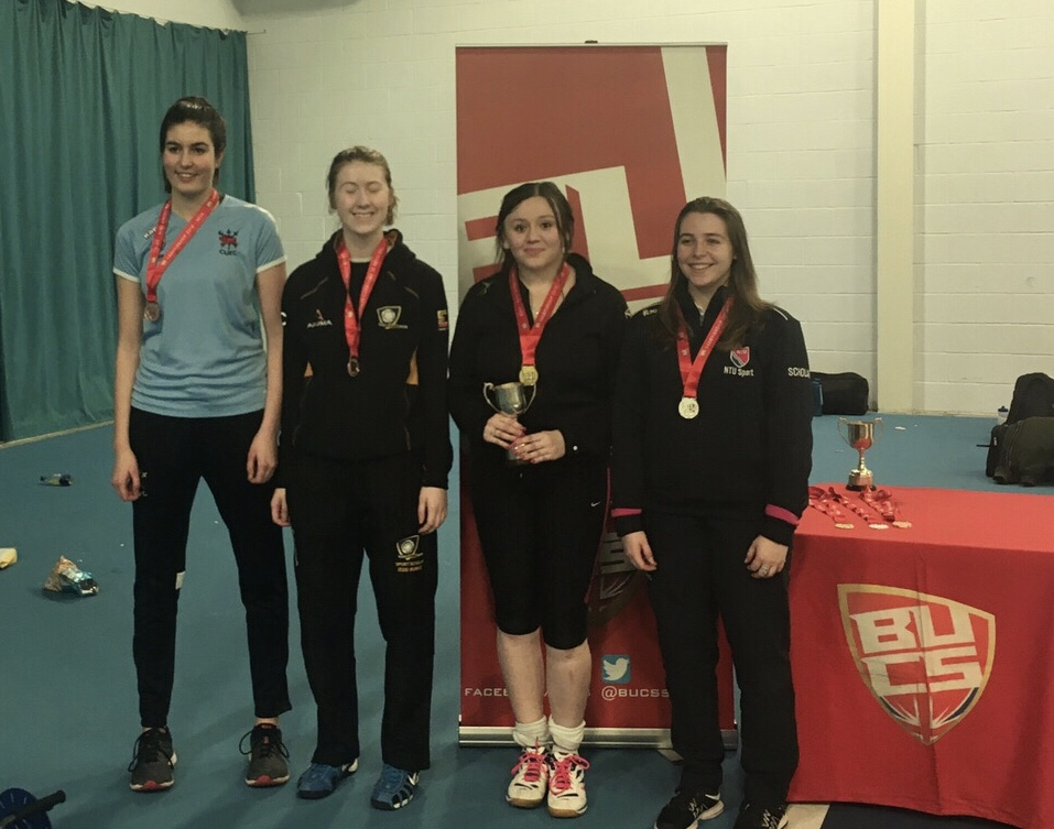 4th BUCs title for Caitlin