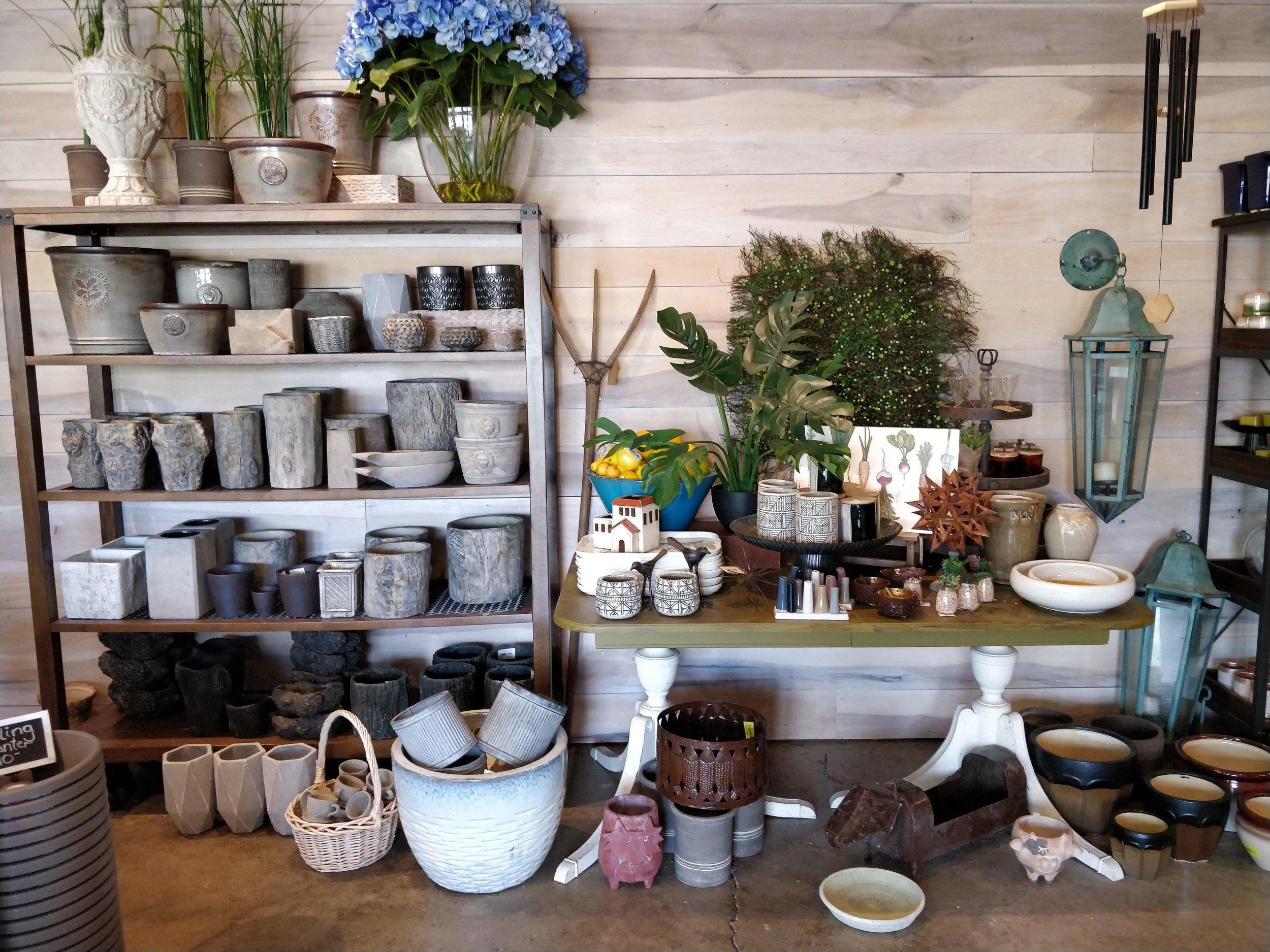 pots, container gardening, herb pot, front door planters, containers, plant containers, plant pot, concrete pot, glazed pots
