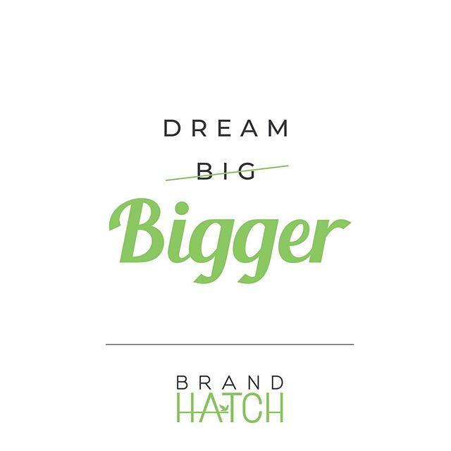 Work hard, dream big(ger)🙌🏻