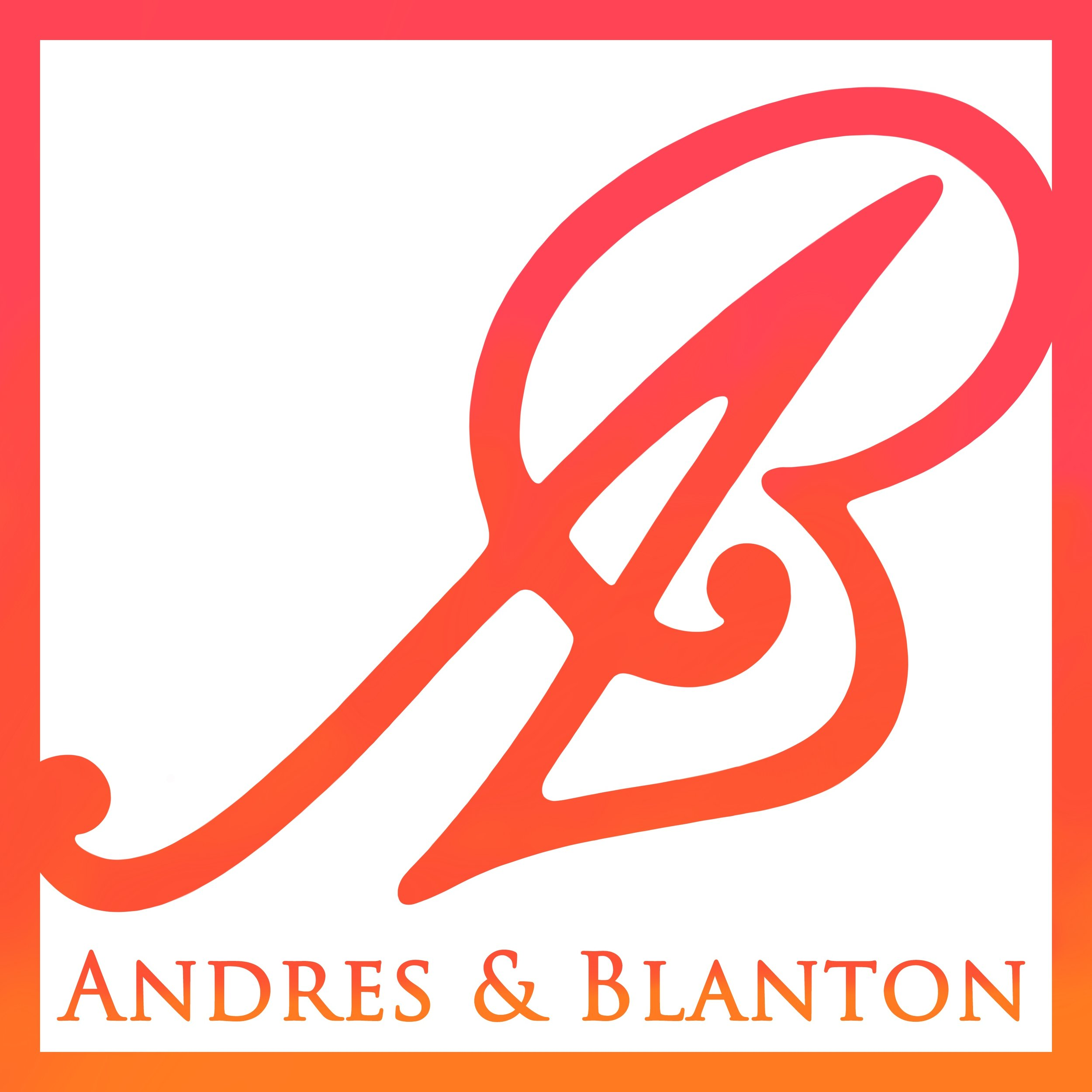 - Andres & Blanton Publishing is an independent publishing house committed to producing books that entertain and edify.For inquiries, click here or email contact@andresblanton.com.