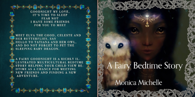Copy of A Fairy Bedtime Story is the Perfect Gift For Young Readers {Gift Ideas for Kids} Multicultural children's picture book