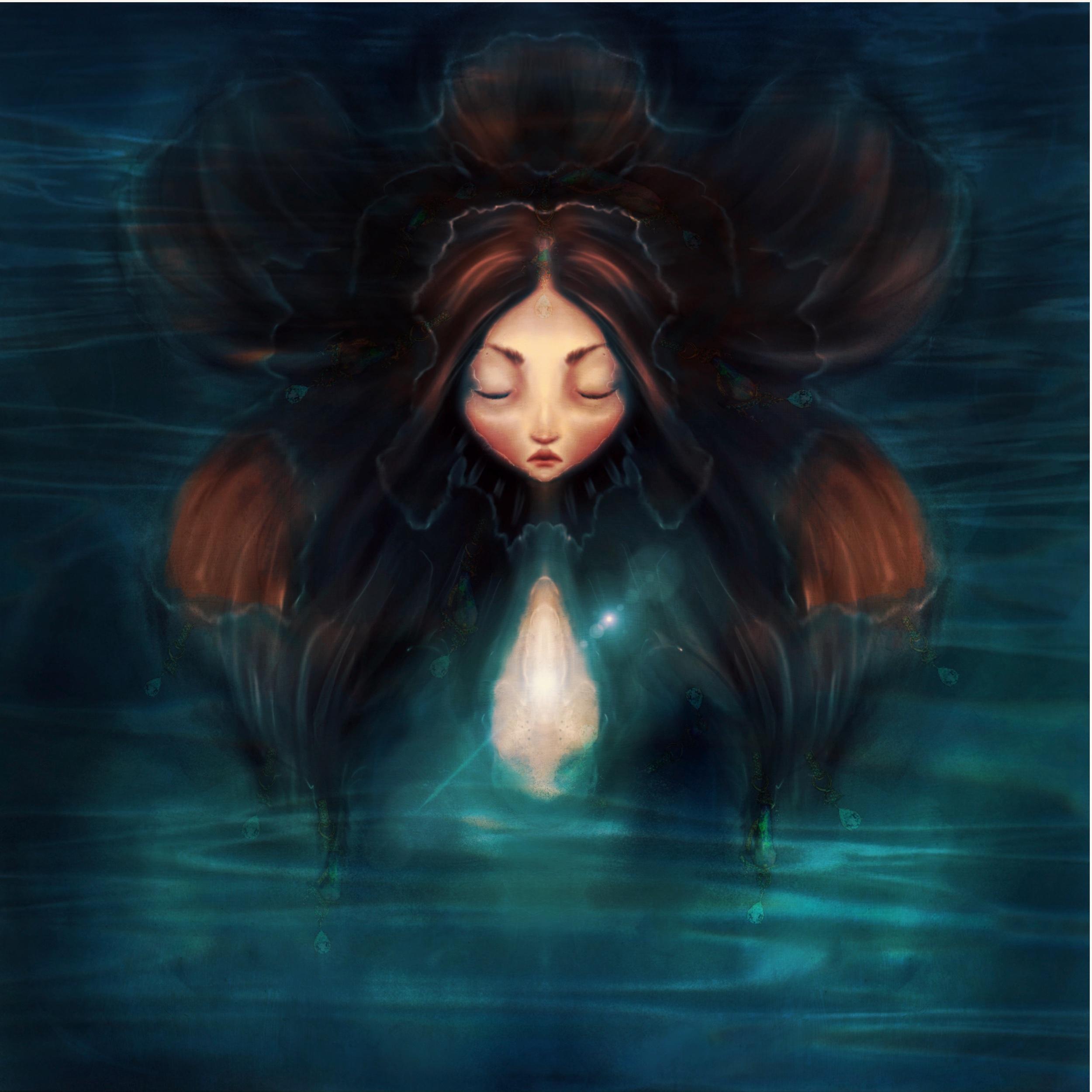 mermaid-brown-hair-face above water opal headband.jpeg