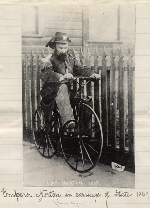 Emperor Norton on a Bike