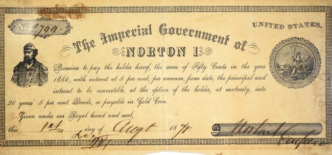 Emperor Norton's Currency