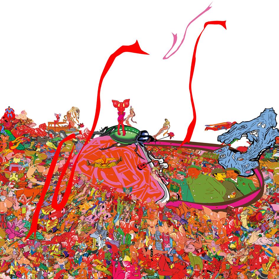 Li Shigong-Standing in a sunny Day-Digital Print-60x60cm-2007-CM2 Space.jpg