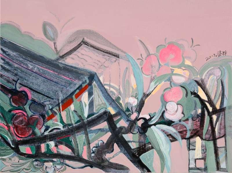 Liang Quan, Spring Flower series-3, Oil on Canvas, 30x40,2017.JPG
