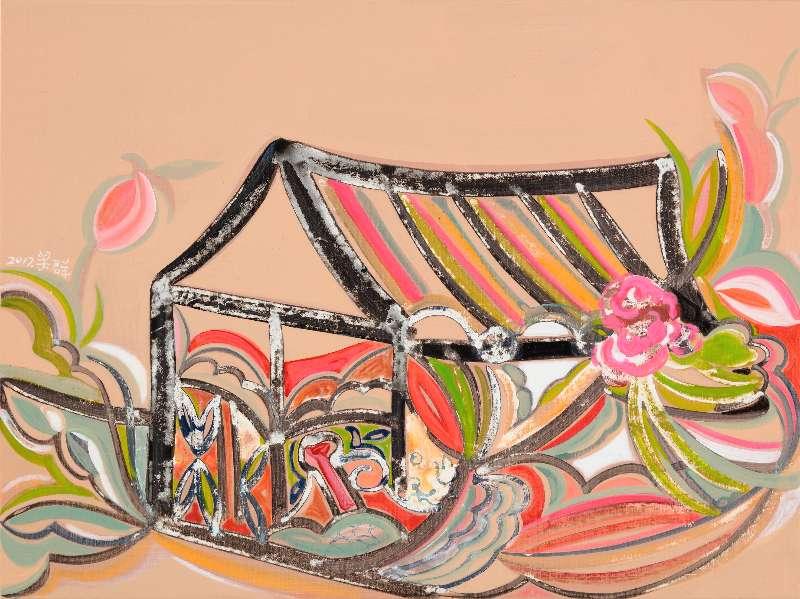 Liang Quan, Spring Flower series-8, Oil on Canvas, 30x40,2017.JPG