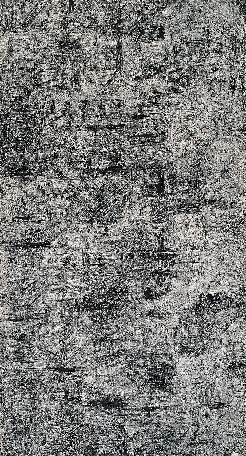 Bian-Hong,-New-Abstract-Calligraphy-Series-No.-4,-2005,-Ink-on-rice-paper,-70-in-x-38-in.jpg