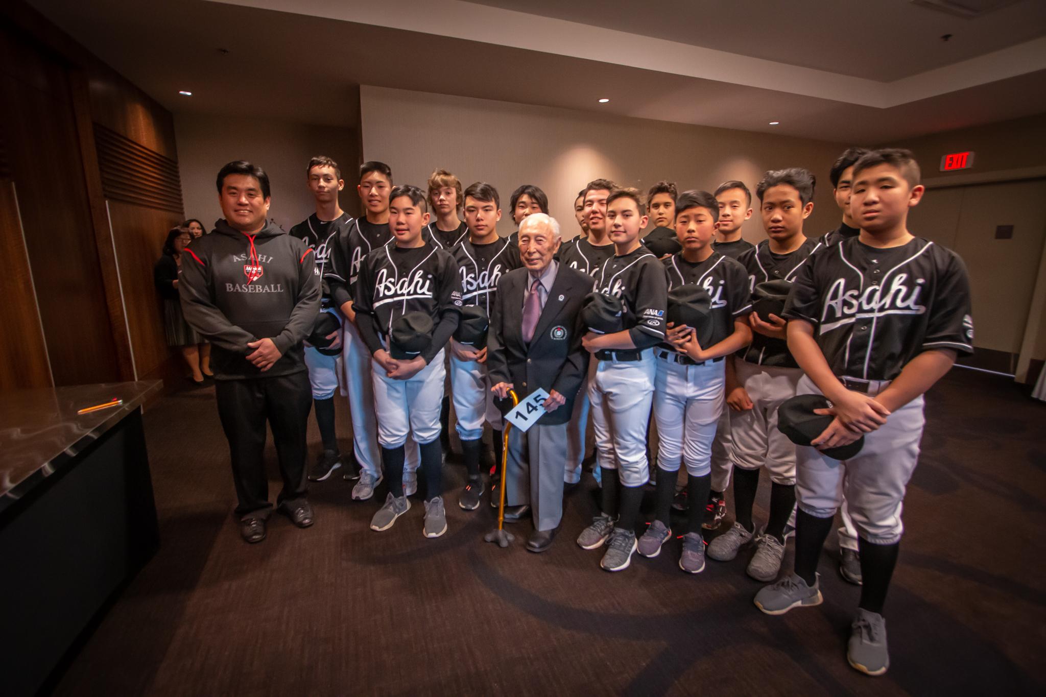 Shin Asahi team with Kaye