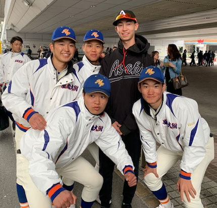 Koshien Players I met