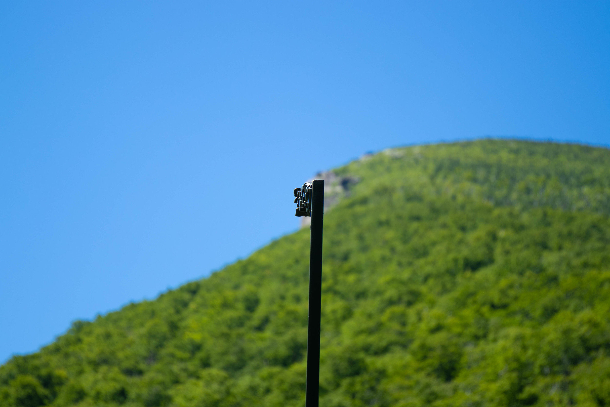 Photo of Old Man in the Mountain in the White Mountains in New Hampshire by Vision Balm in Charleston, SC.