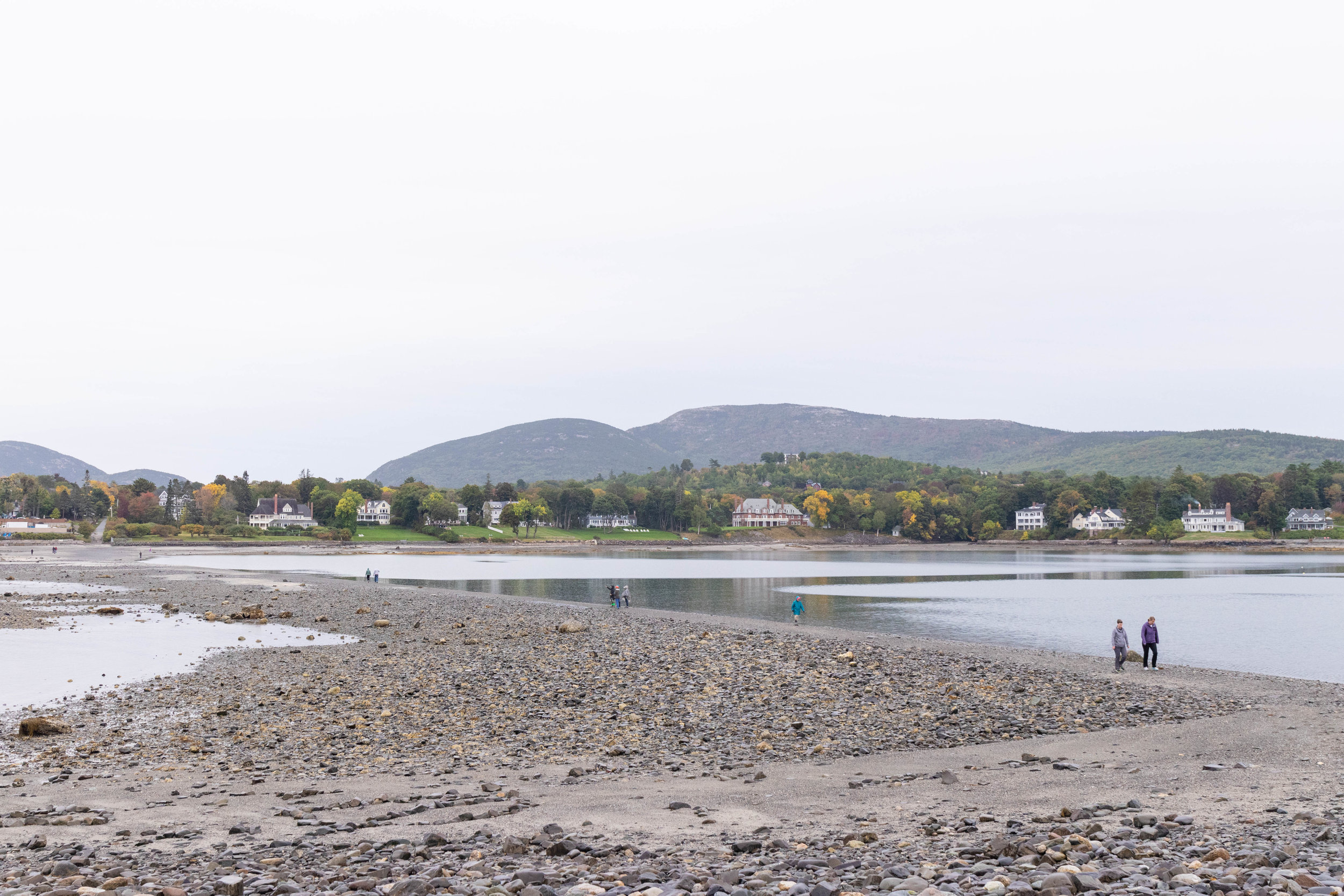 Landscape photos of Bar Island in Maine by Vision Balm in Charleston, SC.