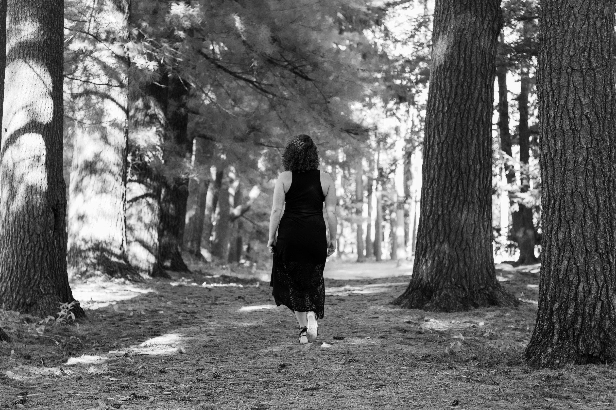 black and white headshot photo