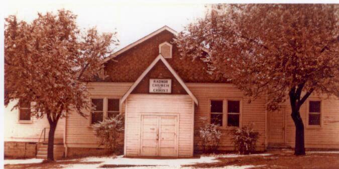 Radnor Church of Christ, 1927