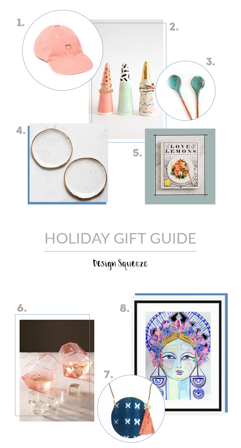 Holiday Gift Guide for the Girls | Design Squeeze
