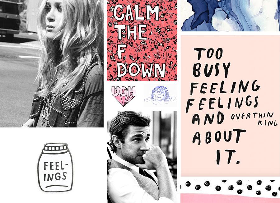 Mood Board Monday: All the Feelings