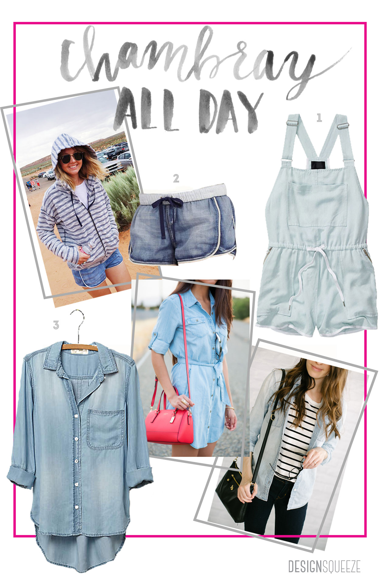 Chambray All Day: The best chambray & denim pieces to wear every season