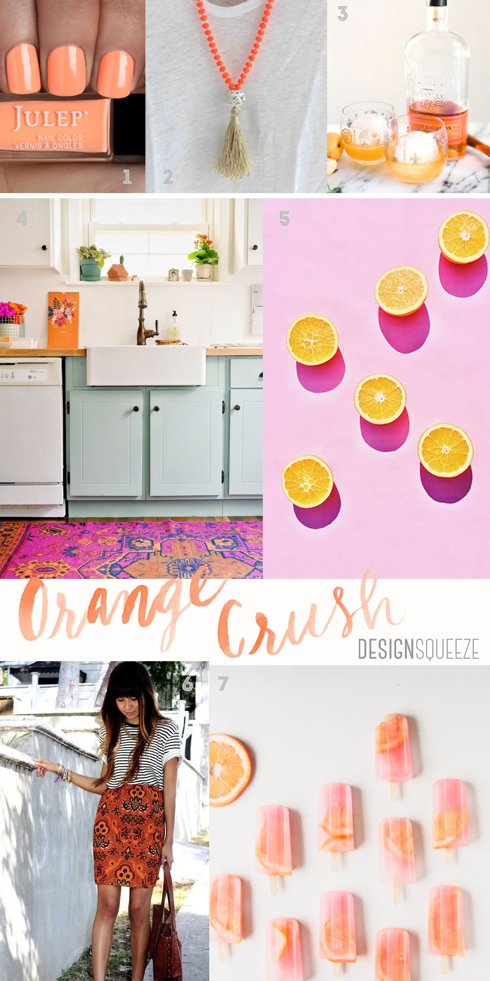 Orange Crush: My Favorite Pins Featuring the Color of Happiness