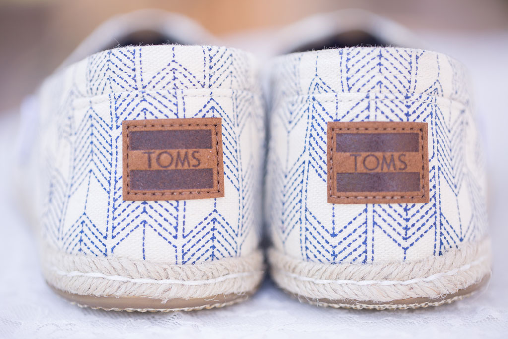 toms as wedding shoes