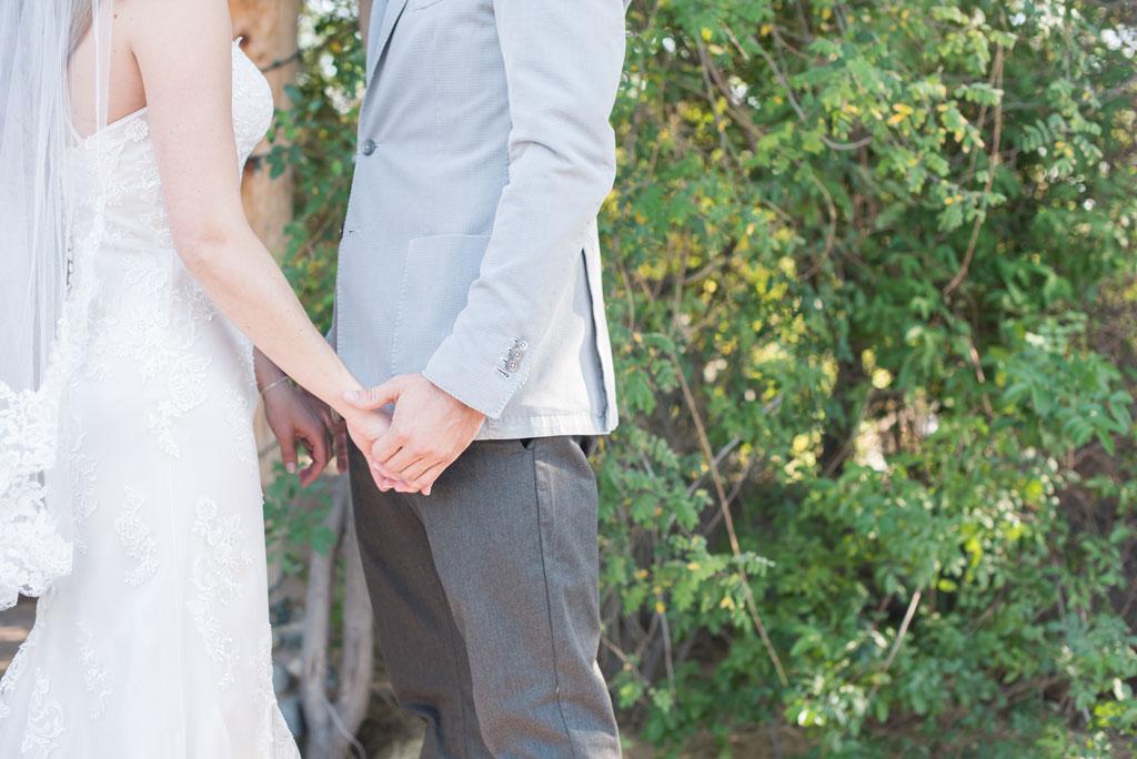 hands shot at boho wedding