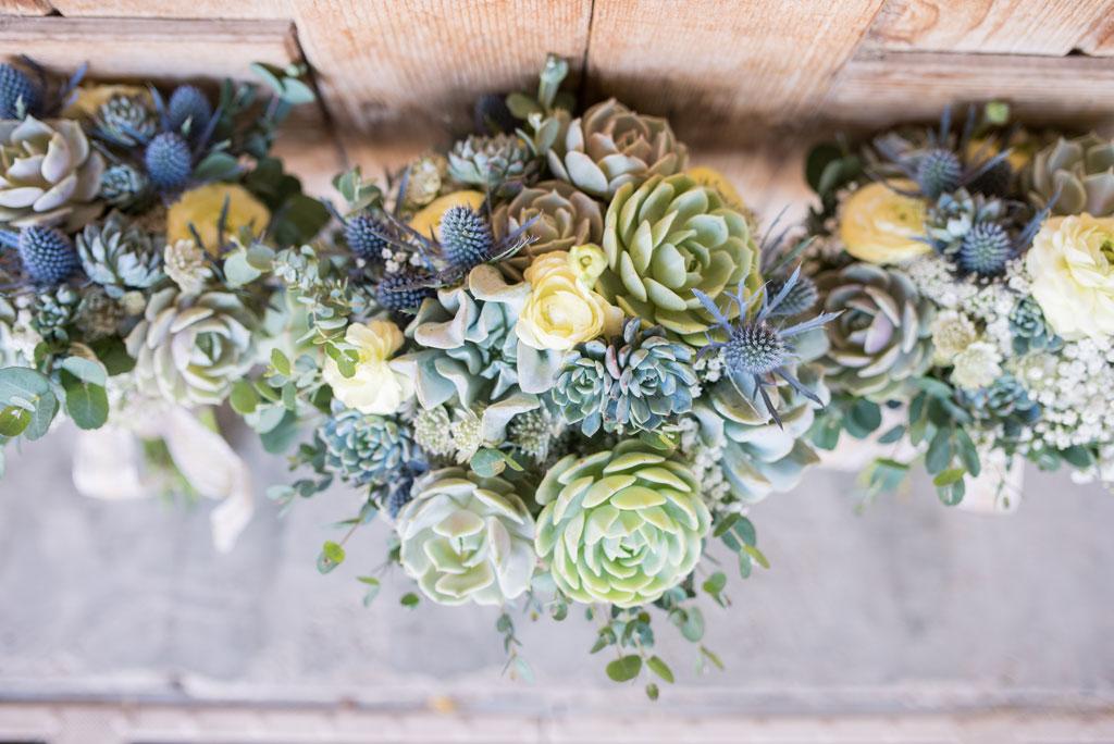 desert wedding with cactus arizona wedding