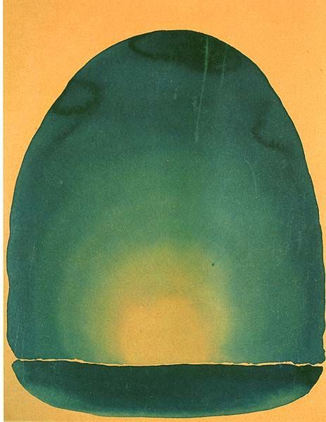 julialukedesign :   Georgia O'Keeffe 'light coming on the plains II,' 1917