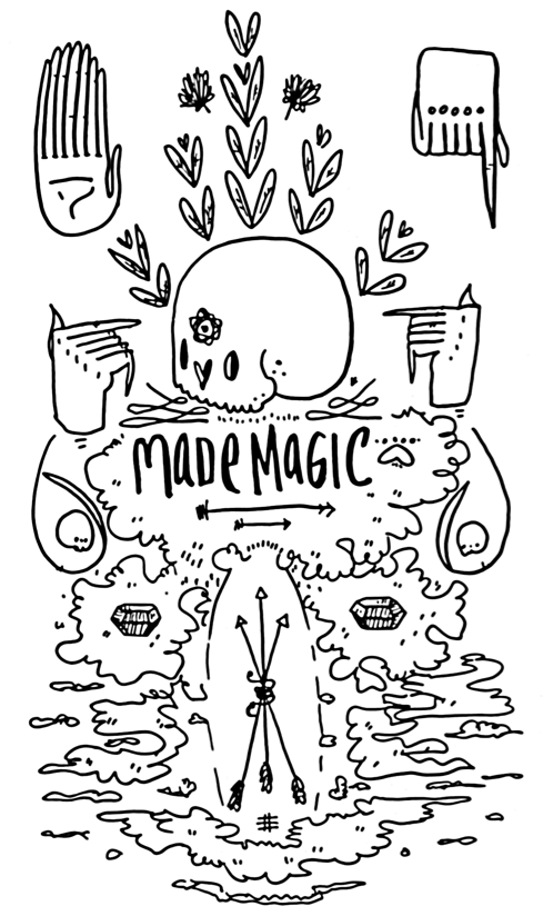 Cat Rocketship's Made Magic