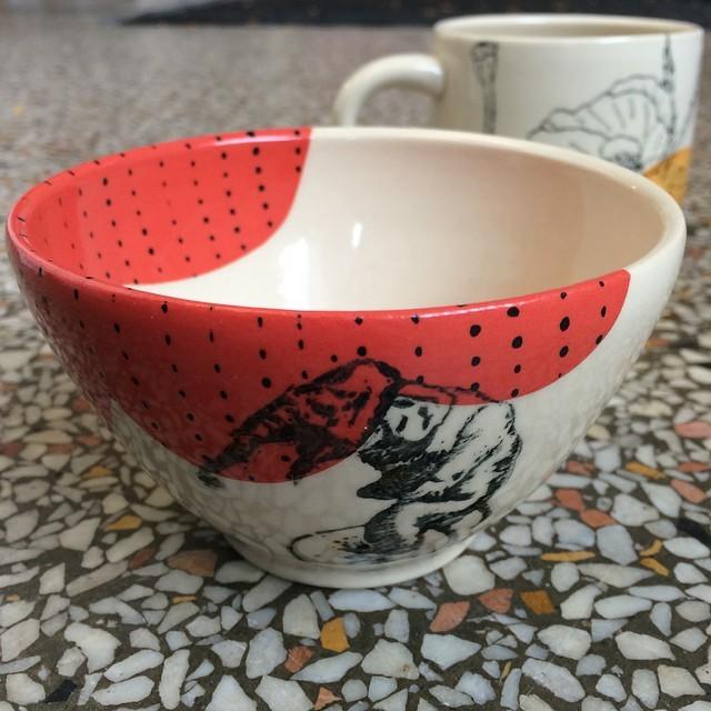 domesticablog :     Circus elephant small bowl by @amandabarr. So pretty! #fall #bowl #handmade #ceramics #domestica #amandabarr #kids #baby #gifts #shower #holiday via Instagram  http://ift.tt/1rw50w4