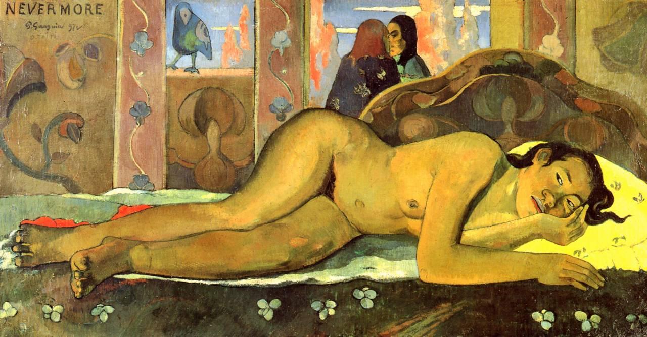thebigkelu :     Paul Gauguin    Nevermore (O Taiti)