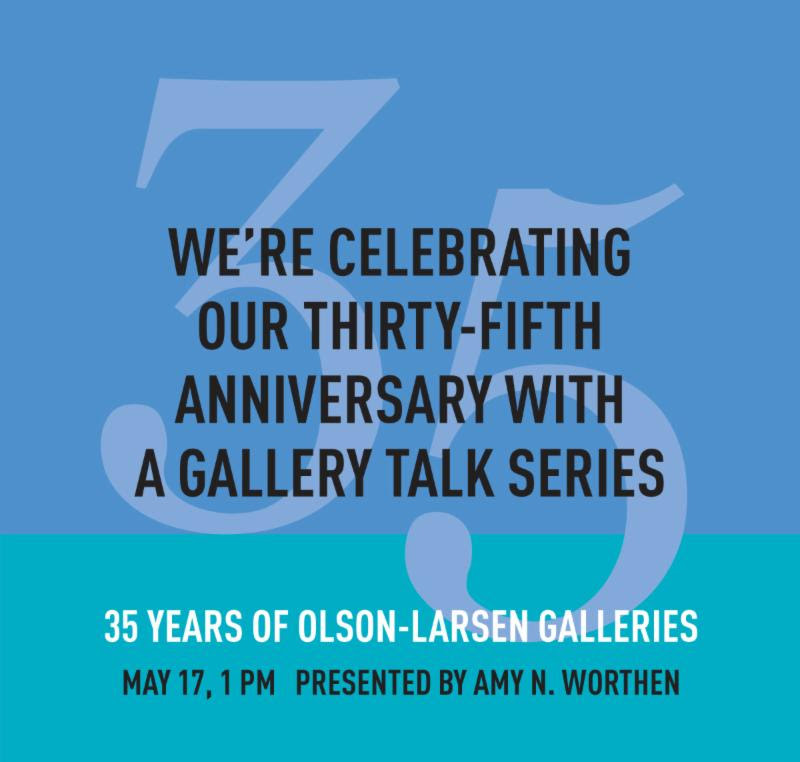 Presented by Amy N. Worthen, internationally-known printmaker and Curator of Prints at the Des Moines Art Center. Amy will share her perspective as an artist based in Des Moines, her experiences with Olson-Larsen and on the changes to our central Iowa art scene. We hope you will join us.  MORE INFO