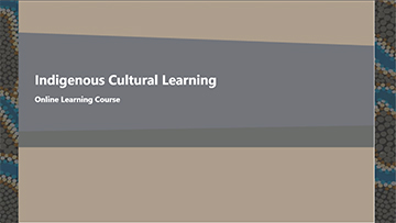 Indigenous Cultural Learning -