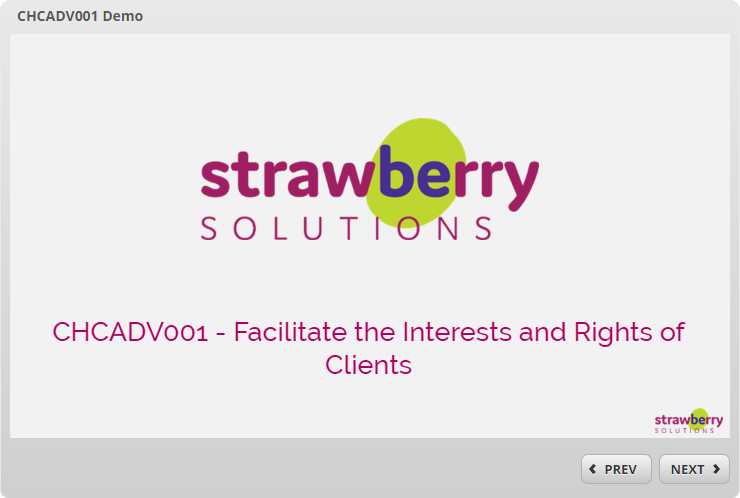 Facilitate the Interests and Rights of Clients -