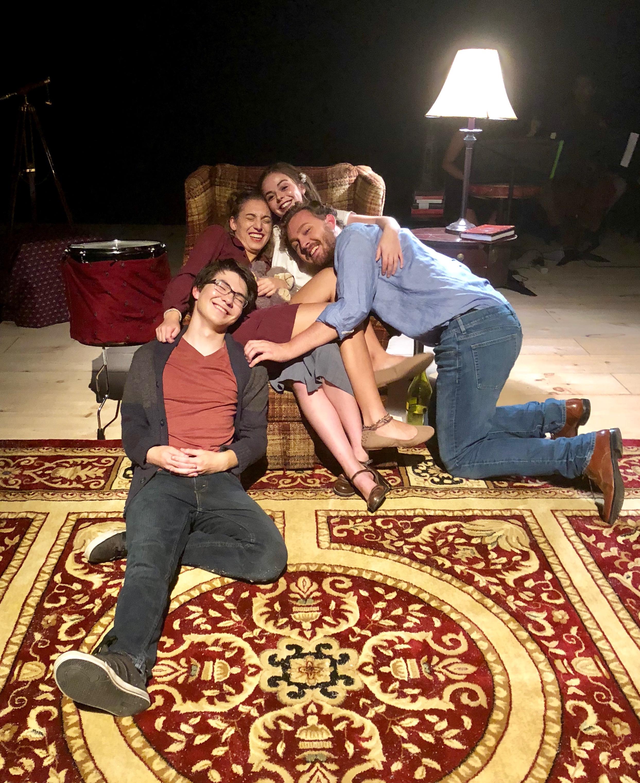 Cast of  Ghost Quartet   (September 2018)