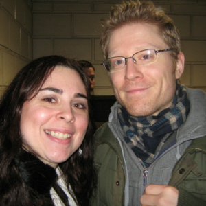 With original cast member of RENT, Broadway Cares/ Equity Fights AIDS activist, and sexual assault victim activist Anthony Rapp.