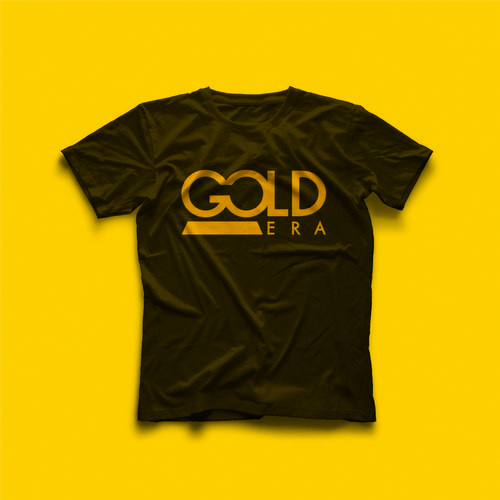 "Black Gold Era T-shirt with classic logo is now available in our ""Shop"". Order yours now!"
