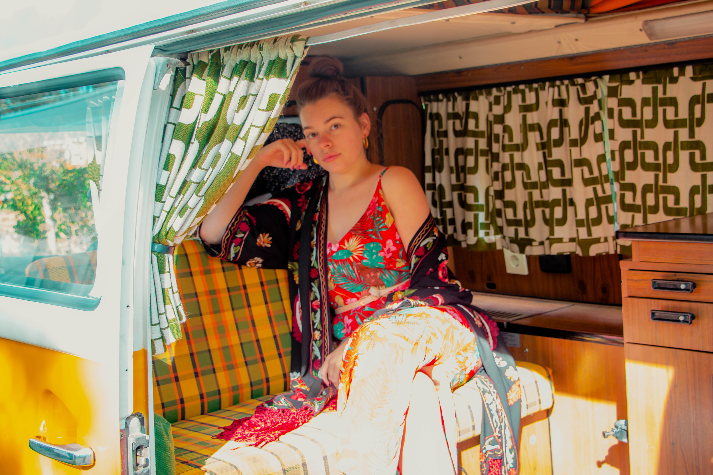 layering contrast living the vw van life for a weekend