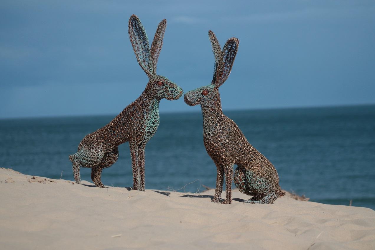 kissing hares 1 sea scene.jpg