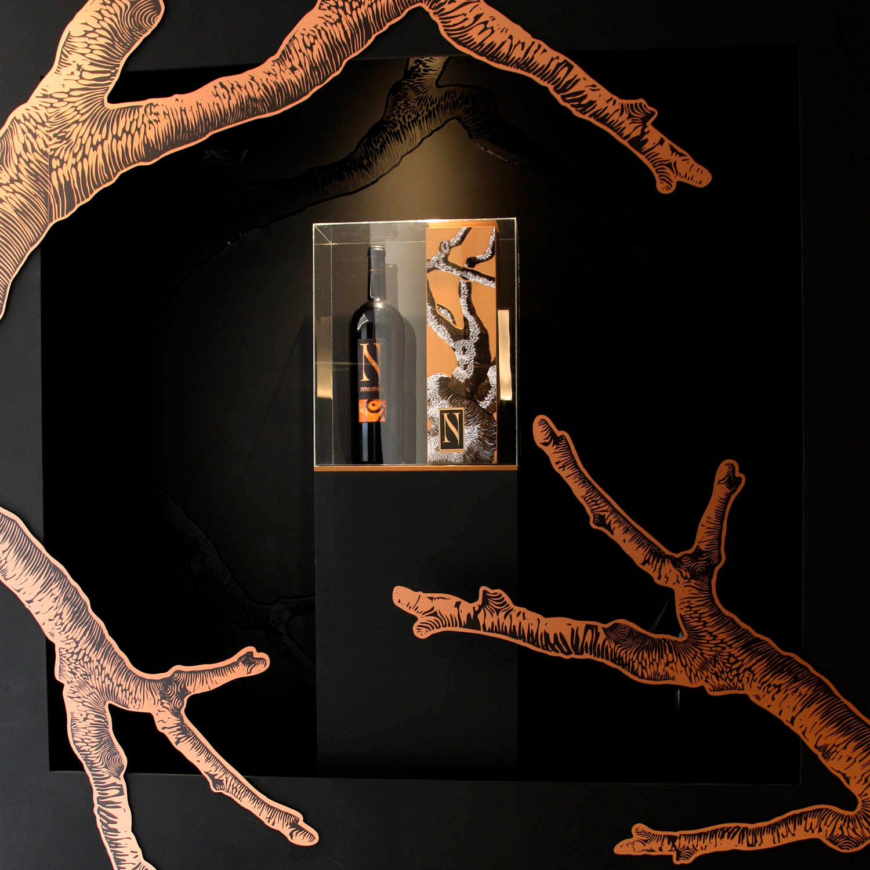 Copie de vitrine Moet Hennessy