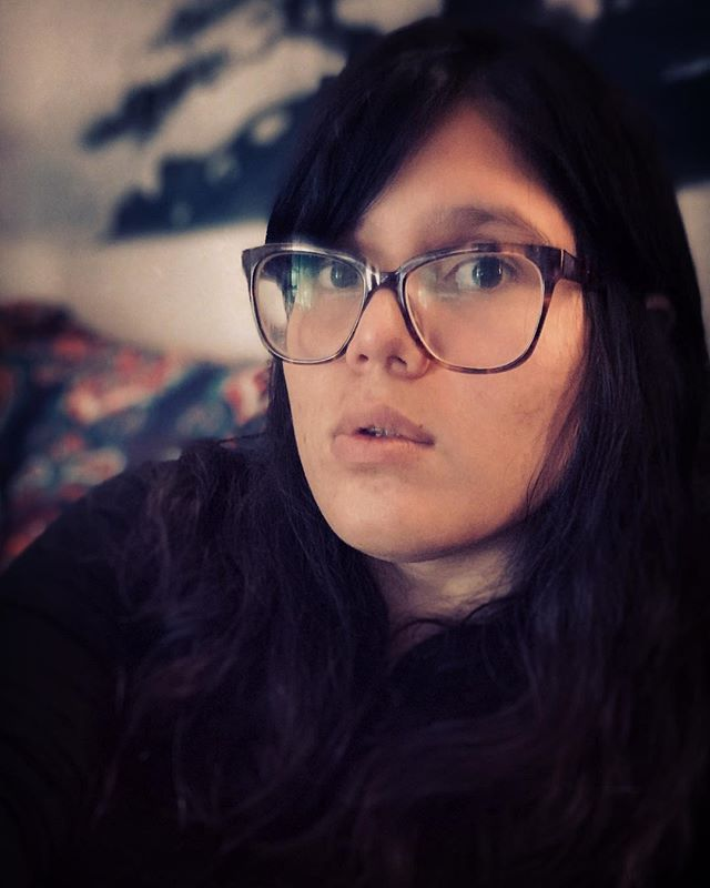 Because I tend to hide from photos and prefer to take pictures of Vi. 🤷🏻‍♀️So here is one of me, Isca.  Have a listen 👂 to our work 🎶 at: 👉👉oddtimerecords.com/thesirenaides . . . . . #Isca #musician #wearethemusicmakers #selfie #whyme #thinking #maybenot #behindthecamera #songwriter #vocalist #vocals #fightingthegoodfight #camerashy #shy #glasses #warbyparker #goodnight #music #thesirenaides #folk #rock #folkrock