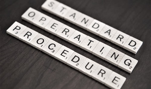 As trainers, it behooves us to have standard operating procedures when coaching our clients.
