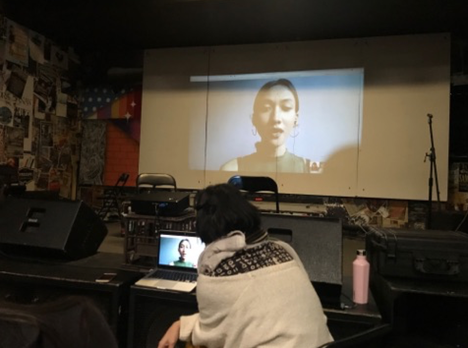 Behind the scenes of yet another engaging multicultural event.  The first film screening to ever happen in YMCA WA HQ's performance space.  For more information click  here .