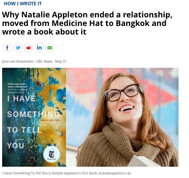 Asia travel memoir Natalie Appleton