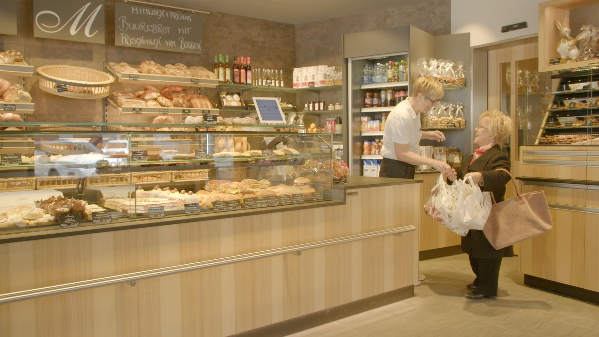 Olga at the bakery Märchi