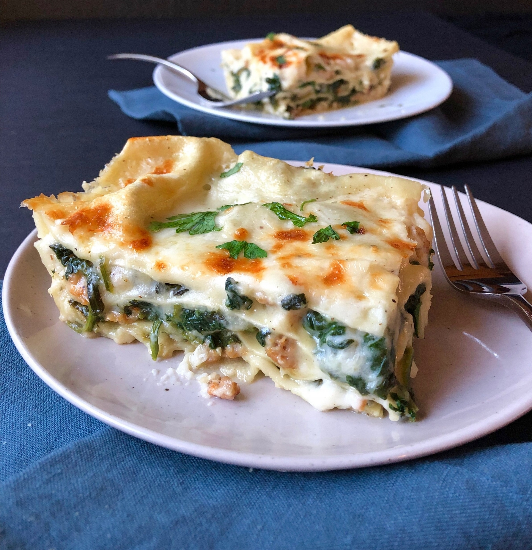 Creamy Sausage And Spinach Lasagna Ann Taylor Pittman