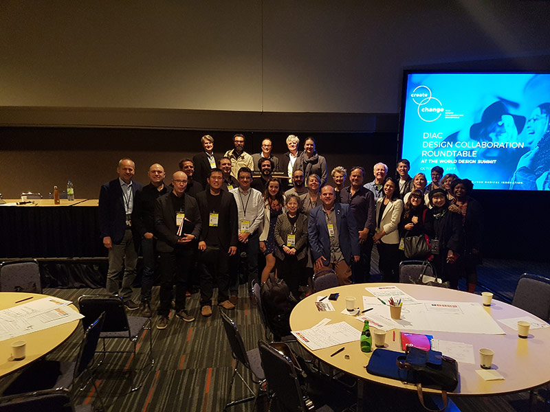 Design Collaboration Roundtable Group at World Design Summit