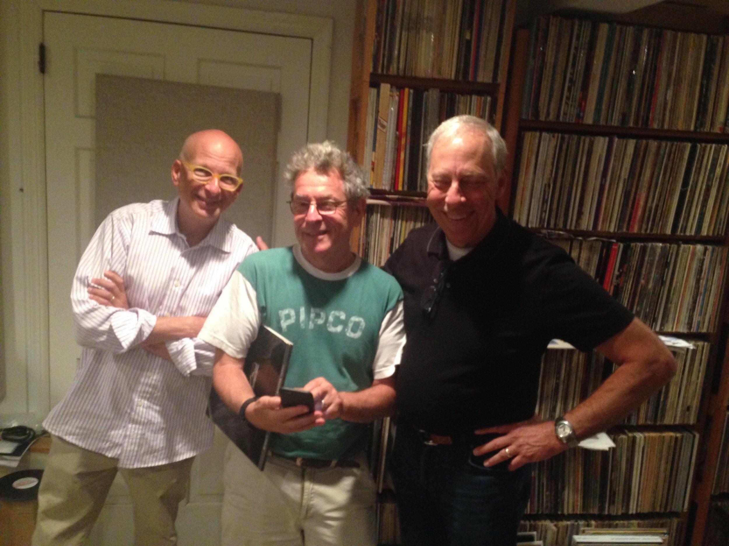 Seth Godin, Michael Fremer, me