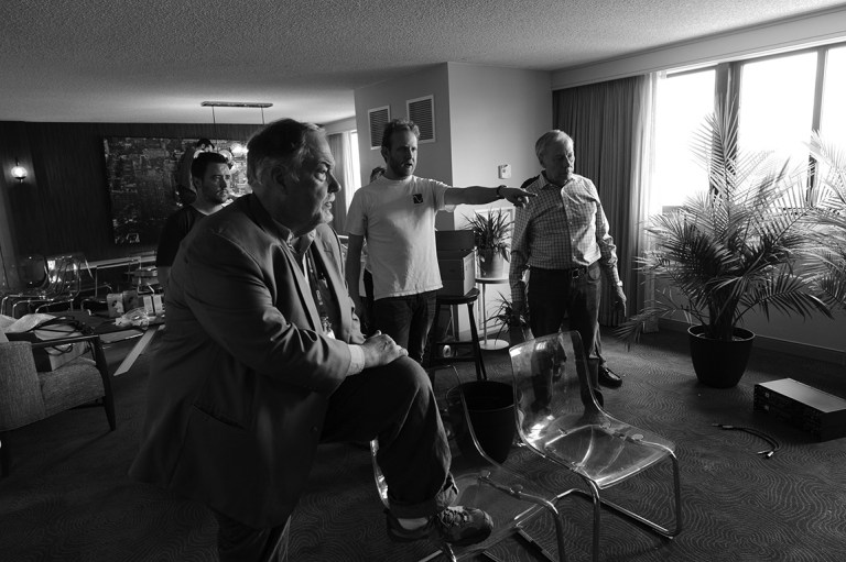 Kevin Jackson, Bill Leebens, Scott McGowan, at RMAF setup