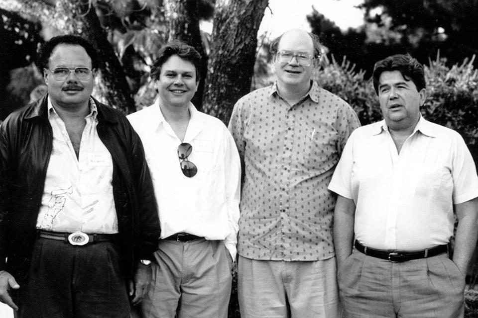 Peter Moncrief, John Atkinson, Larry Archibald, Harry Pearson