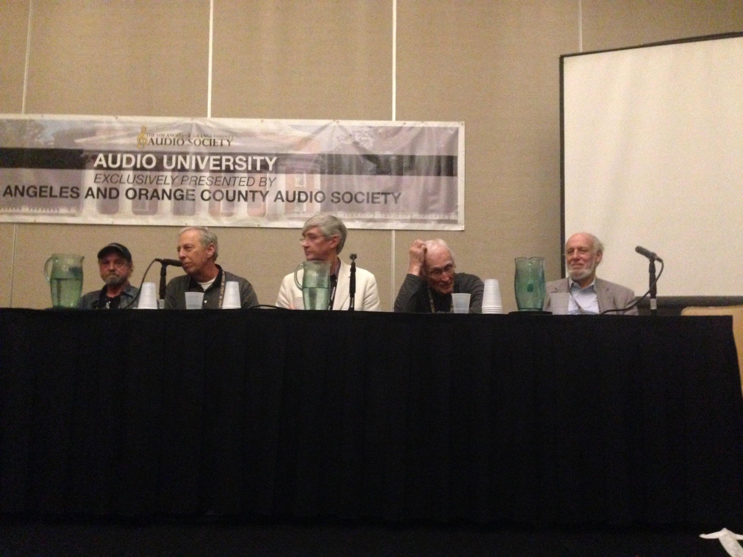 Arnie, me, Bob Stuart, Bascom King, Tim Paravacini