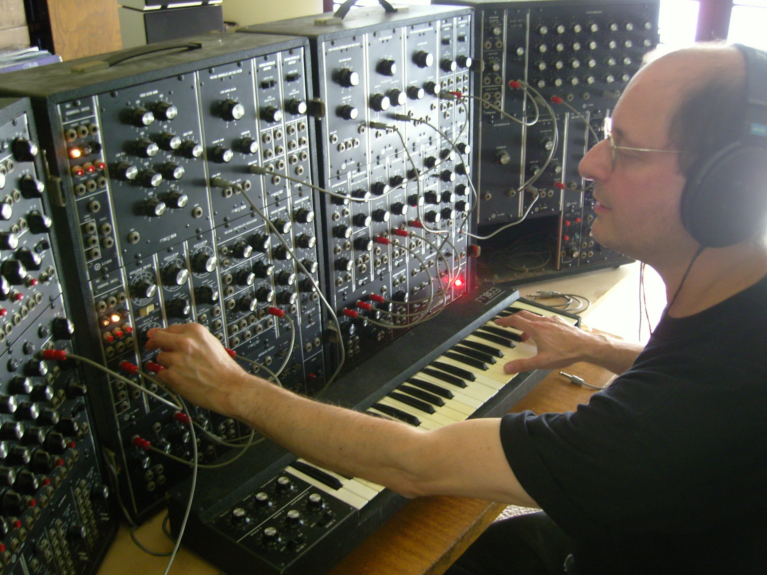 Dan Schwartz on the Moog Synthesizer